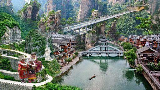 Du lịch Trương Gia Giới khám phá chốn bồng lai tiên cảnh